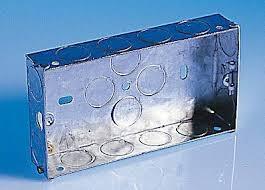 Flush Back Box 2G 25mm