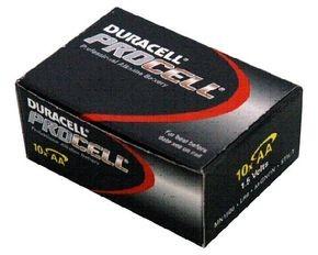 Duracell AA Procell Alkaline Batteries Pack 10