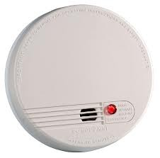 Kidde Firex 4881/KF1R Ionisation 230V AC Smoke Alarm with Rechargeable Battery