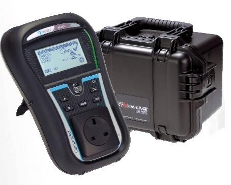 Metrel mi3311 pro downloadable pat tester hard case kit
