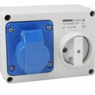 IP44 Switched Interlock Sockets