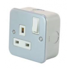 Single Switched Socket 13amp