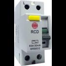 Wylex WRS16/2 Double Pole RCD 16A 30mA